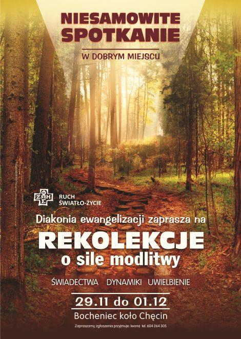 plakat rekolekcjeA3